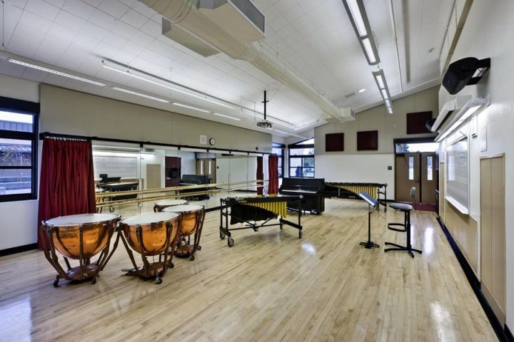 Modern High School Classroom Designs ~ Cozy music room designs that redefine styles