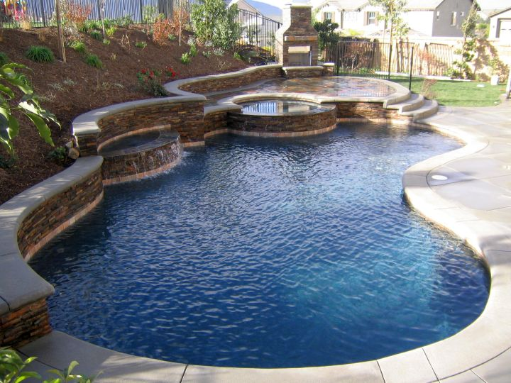 Refreshing Ideas Of Small Backyard Pool Design - Backyard ideas with pool