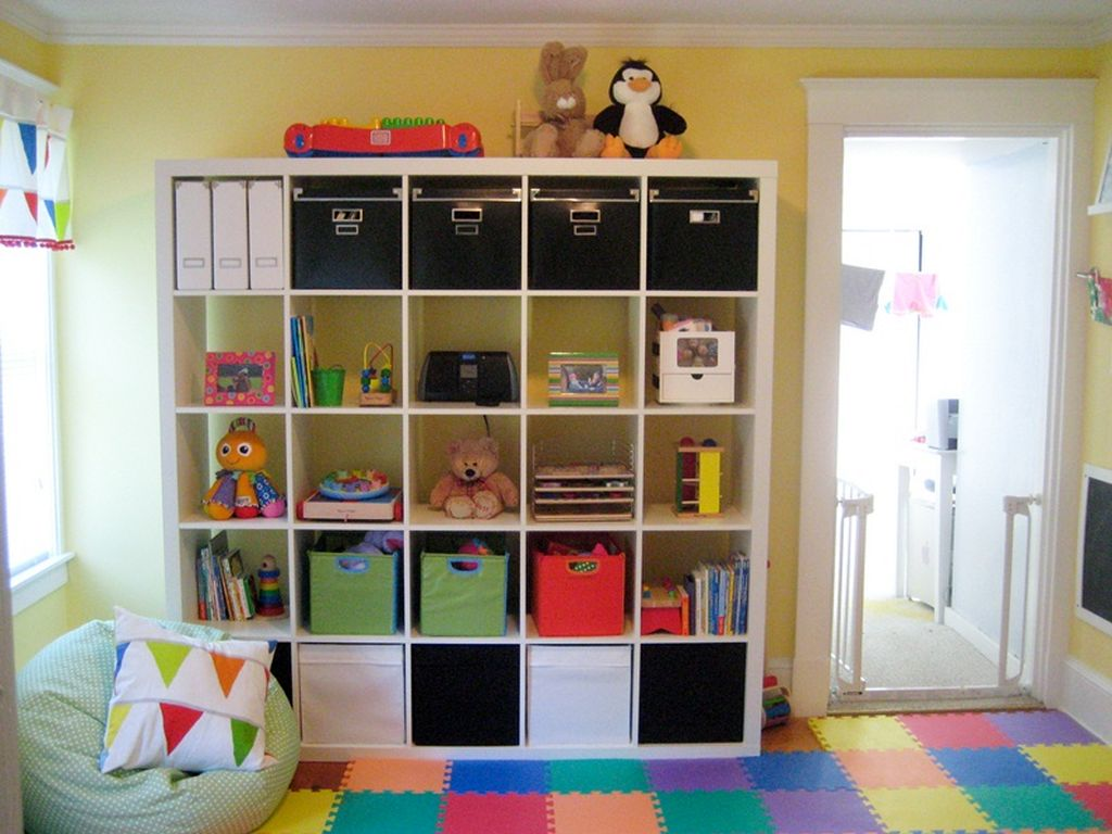 Playroom Design Ideas view in gallery create ample window seating space with plush decor Gallery For Fun Kids Playroom Design Ideas