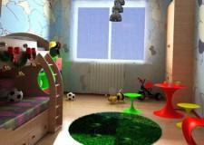 kids rooms paint ideas with unique bunk beds