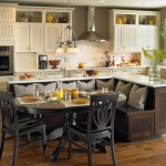kitchen island with sink with seating for spacious kitchen