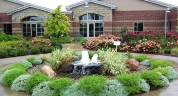landscape fountain design ideas