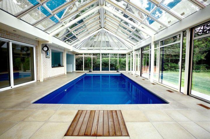 lap pool indoor swimming pool