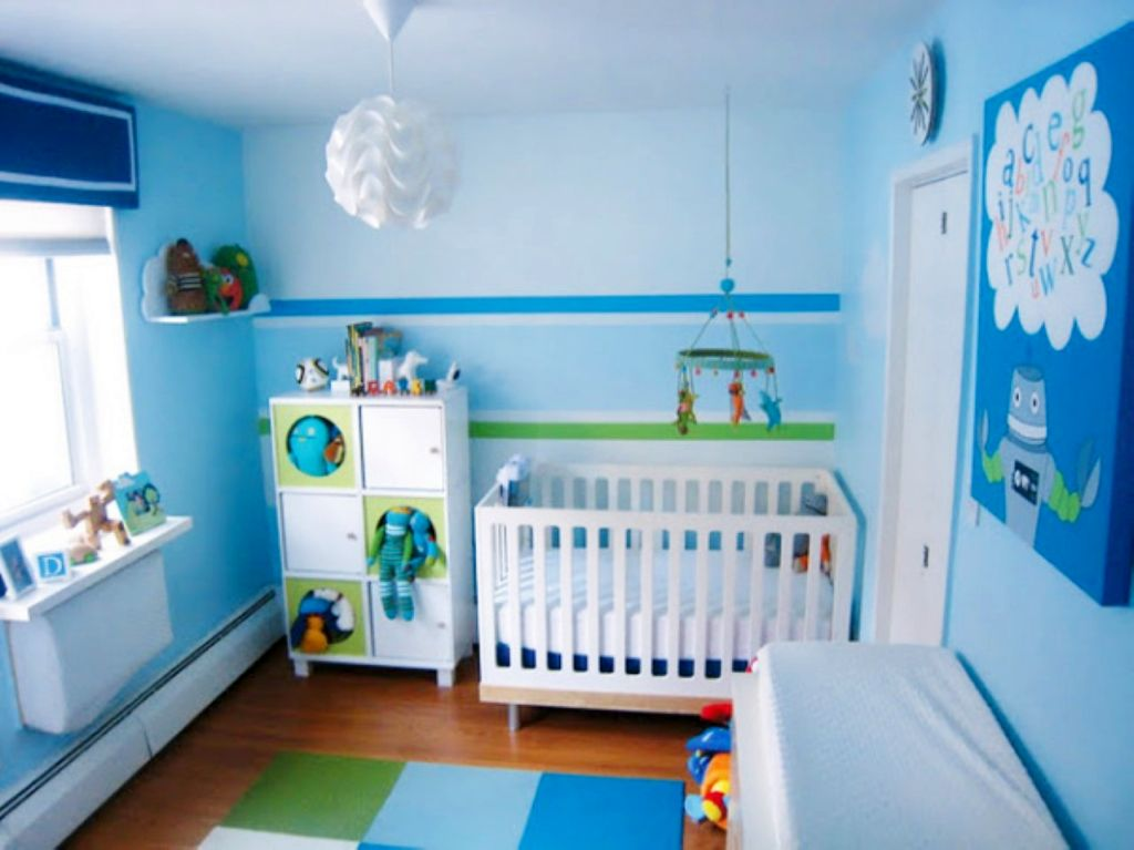 20 refreshing boys blue room design ideas for The blue room