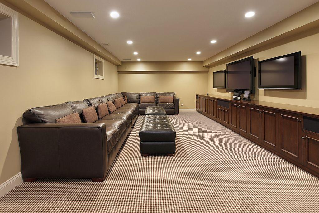 18 lighting ideas for basement to provide spacious feeling