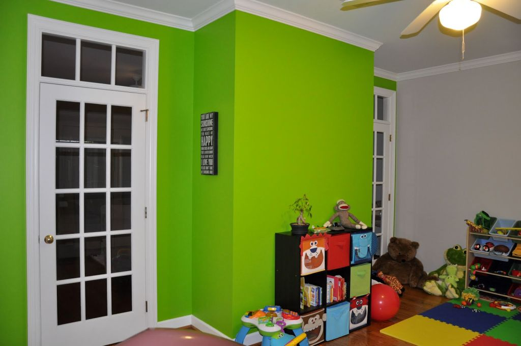 Gallery For Lime Green Accent Walls