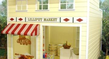 little bakery luxury outdoor playhouse