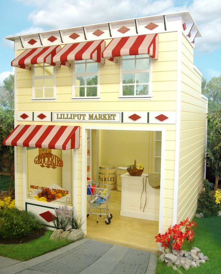 little bakery luxury outdoor playhouse