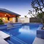 luxurious contemporary best backyard swimming pool designs