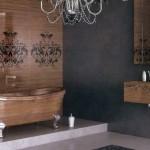 luxurious wooden bathroom designs