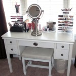 make up storage cabinet ideas in classic white