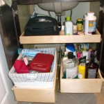 make up storage cabinet ideas under the sink