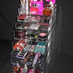 make up storage cabinet ideas with plastic cabinet