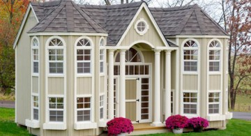 mansion luxury outdoor playhouse