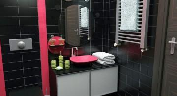 masculine black bathrooms ideas