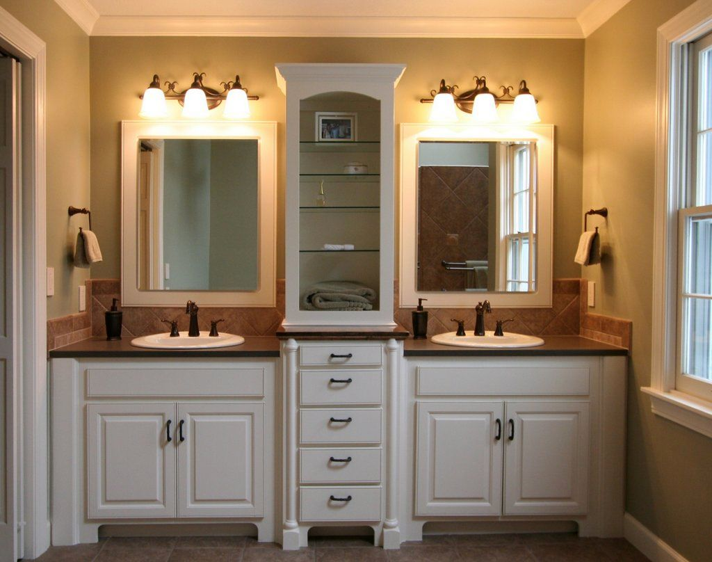 So, What Do You Think About Master Bathroom Lighting Ideas With Twins Wash  Basin Above? Itu0027s Amazing, Right? Just So You Know, That Photo Is Only One  Of 18 ...