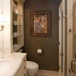 master bathroom vanity lighting ideas with mini pendant lamps