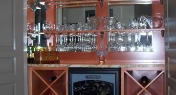 mini bar contemporary wine cabinet