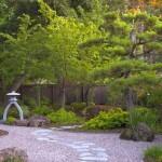 minimalist Japanese garden backyard design