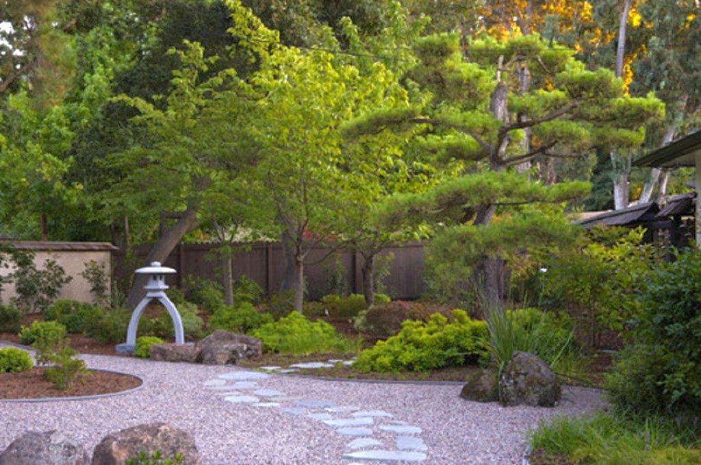Japanese Minimalist Garden : minimalist Japanese garden backyard design