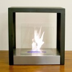 minimalist freestanding fireplaces designs