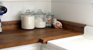 minimalist freestanding kitchen sinks for the corner