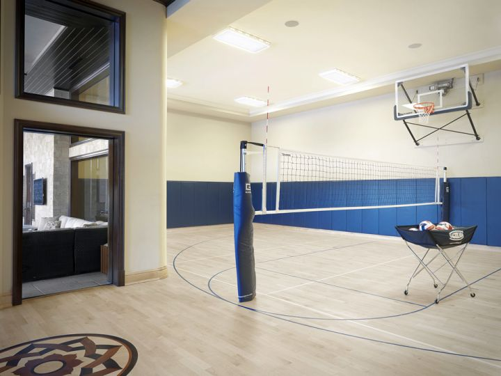 minimalist indoor home basketball courts 19 modern indoor home basketball courts plans and designs,Home Indoor Basketball Court Plans