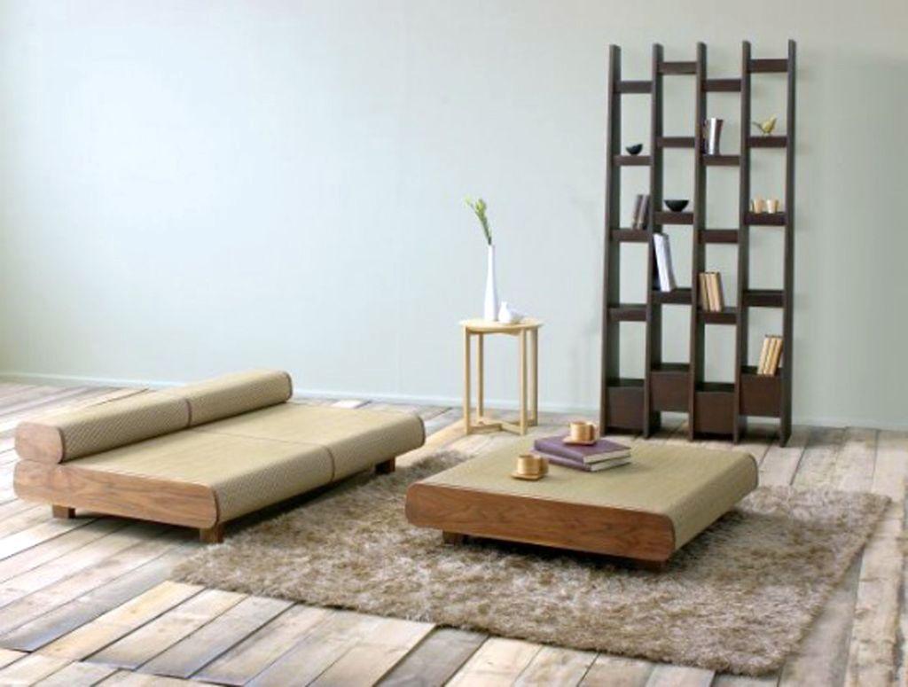 & minimalist japanese inspired living room