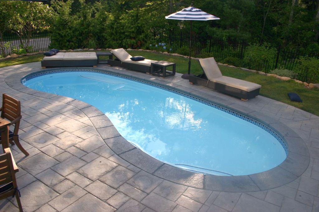 Minimalist kidney shaped swimming pools - Kidney shaped above ground swimming pools ...