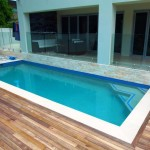 minimalist lap pool designs