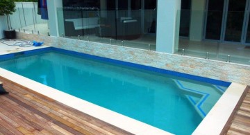 minimalist lap pool designs