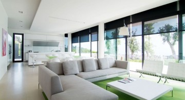 minimalist modern furniture for long living rooms