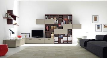 minimalist modern furniture in monochrome