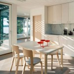 minimalist modern kitchen tables for small spaces in white