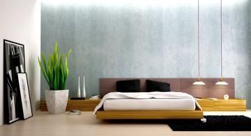 minimalist modern mens bedroom