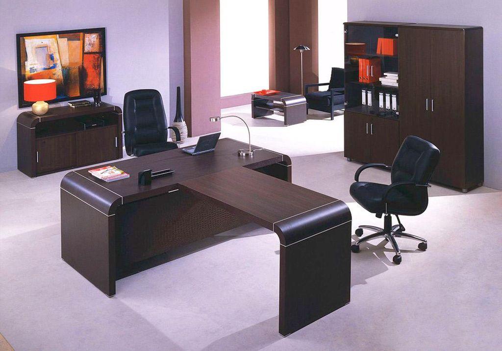20 modern minimalist office furniture designs for Modern office table design photos
