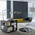 minimalist office furniture with multipurpose desk