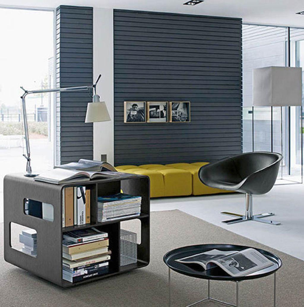 20 modern minimalist office furniture designs for Minimalist home office desk