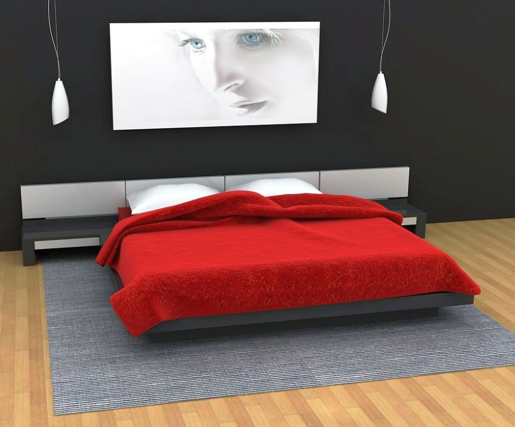 minimalist red black and white bedroomastounding striped red black striking