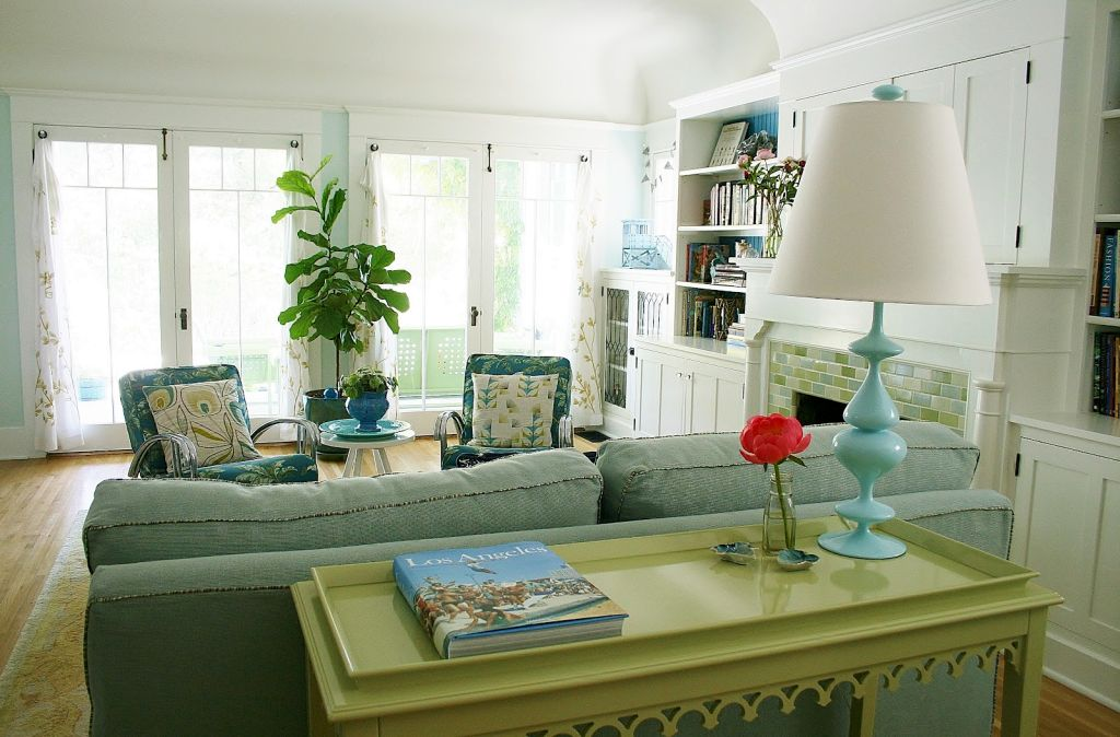 Gallery For Retro Living Room Ideas