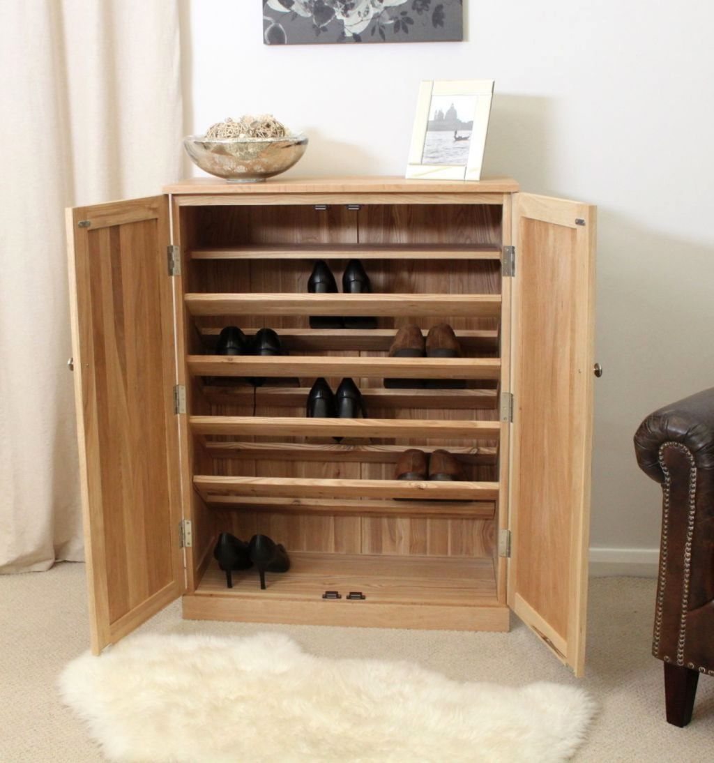 19 Creative Shoe Cabinets Design Ideas for Small Space