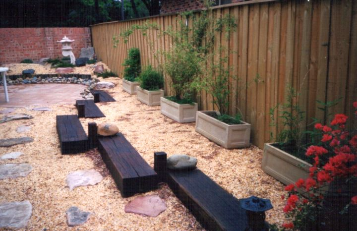 Minimalist small japanese garden design ideas for Japanese landscaping ideas