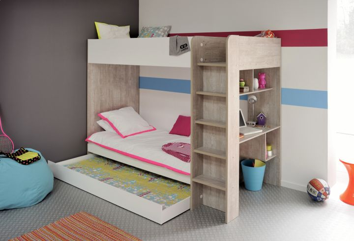 minimalist stylish bunk beds