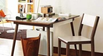 minimalist stylish home office