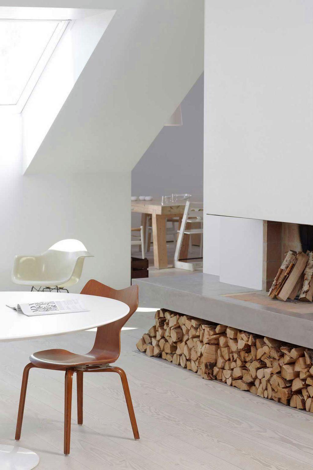 18 trending scandinavian fireplace design ideas - Scandinavian design ideas ...