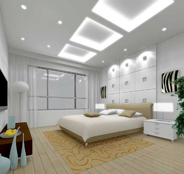 modern Different Ceiling Designs for bedroom