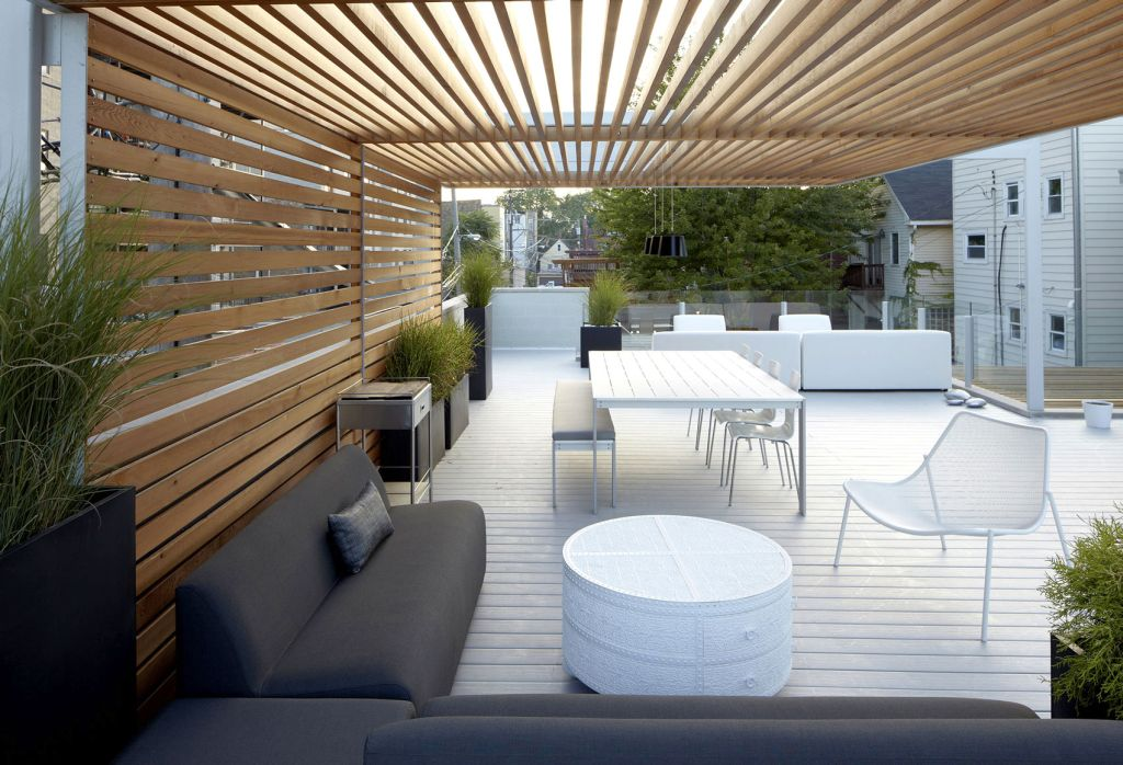 20 stunning decoration ideas for modern deck design for Deck blueprints