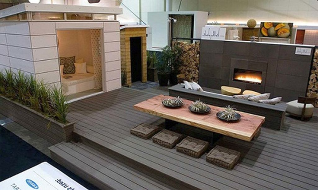 20 stunning decoration ideas for modern deck design for Modern garden decking designs