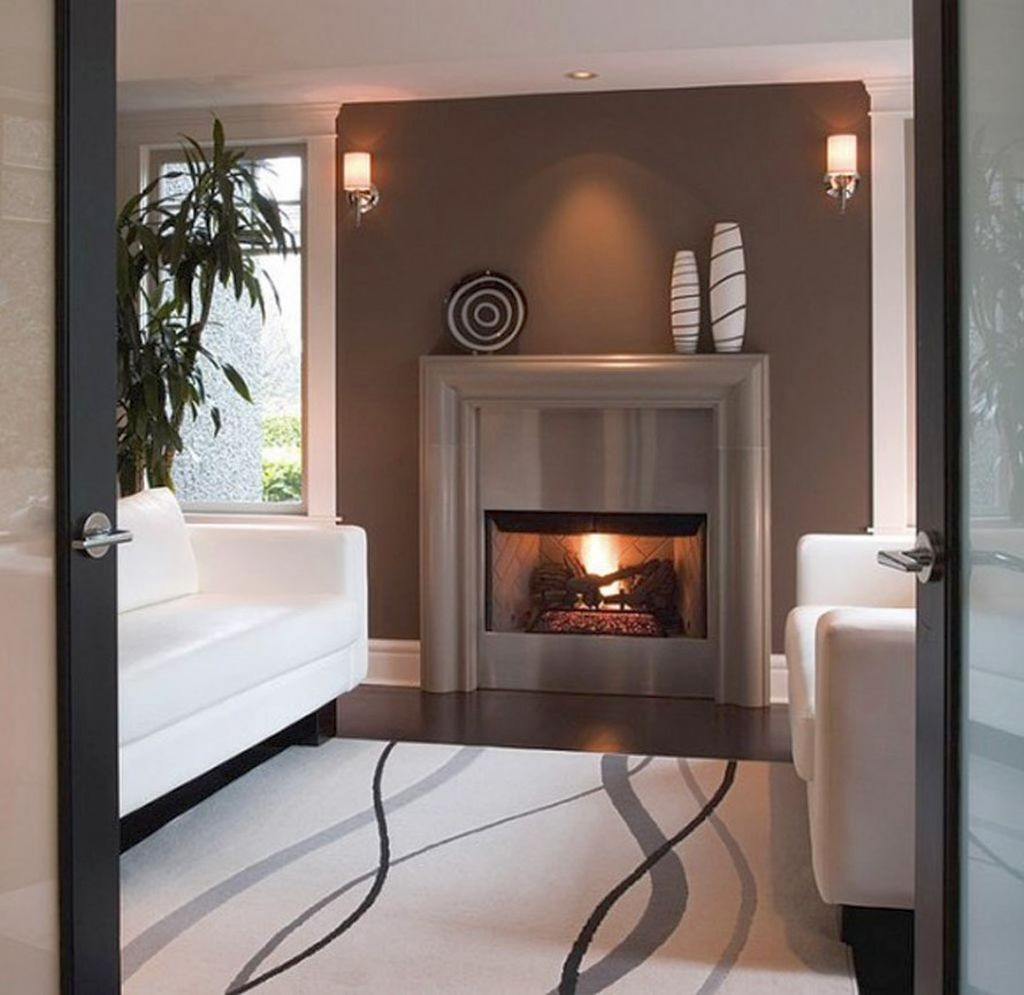20 Elegant Modern Fireplace Designs With Glass