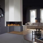 modern fireplace designs with glass on living room with unique bookshelf